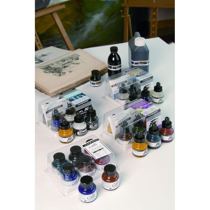FW Ink Primary Colours 6 Set