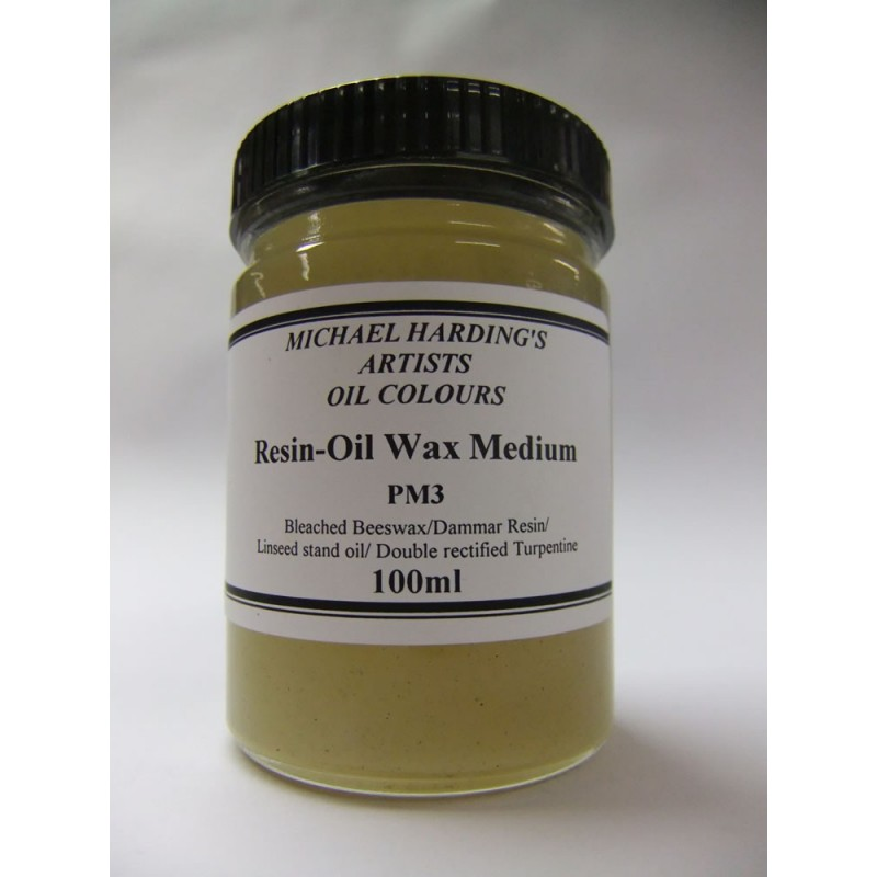 Michael Harding Resin-Oil Wax medium - 100ml - PM3