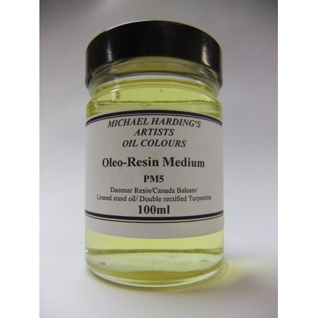 Michael Harding Oleo-Resin Medium - 100ml -PM5