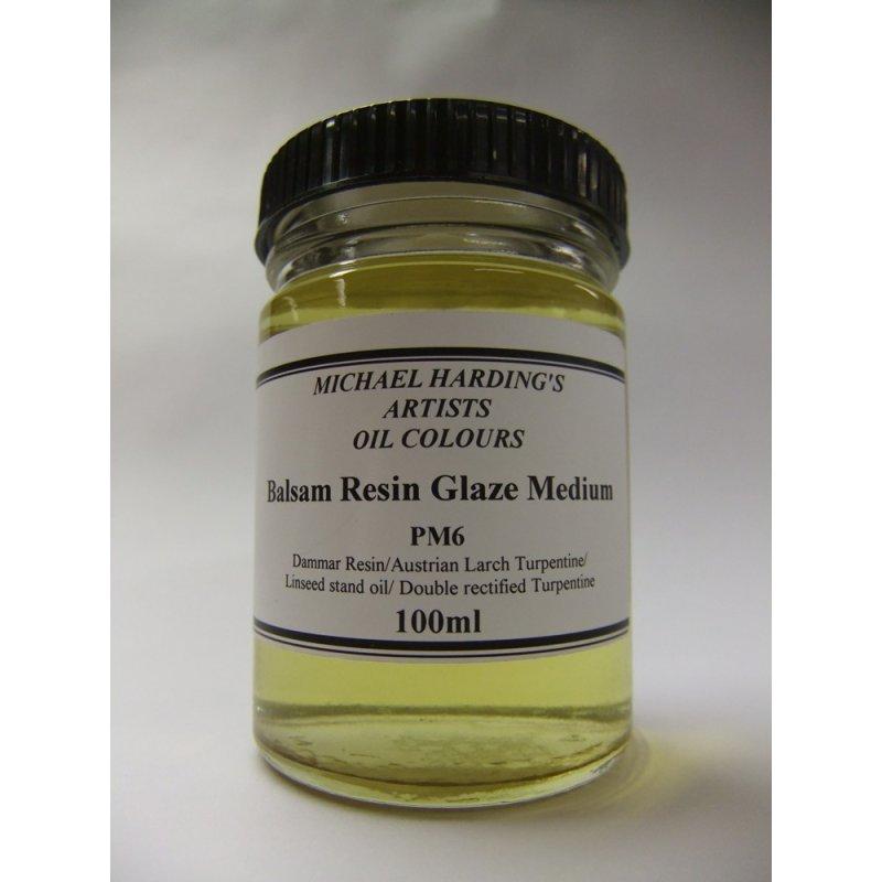 Michael Harding Balsam Resin Glaze Medium - 100ml - PM6