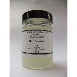 Michael Harding Matt Varnish - 100ml - V2