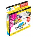 SYSTEM 3 STARTER SET 6X22ML - FREE BRUSH