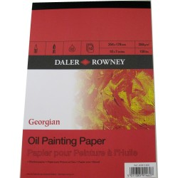 Daler Rowney Georgian Oil Pad 250gsm 12 sheets