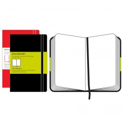 Moleskine Plain Red Notebook 130 x 210mm