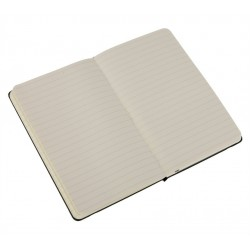 Moleskine Ruled Black Notebook - Large 130 x 210mm