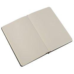 Moleskine Plain Black Notebook - Pocket - hard cover - 90 x 140mm