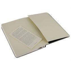Moleskine Plain Black Notebook - hard cover - Large 130 x 210mm