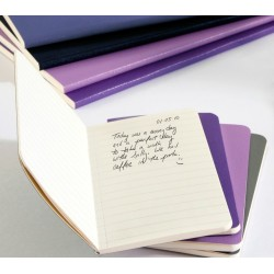 Moleskine Plain Volant Notebook Set - violet - soft cover - Large 130 x 210mm