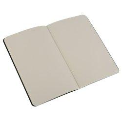 Moleskine set of 3 plain journals - black -soft cover - Pocket 90 x 140mm