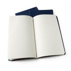 Moleskine set of 3 squared journals - kraft brown -soft cover - Large 130 x 210mm