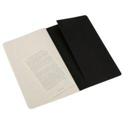 Moleskine set of 3 plain journals - kraft brown - soft cover - X Large 190 x 250mm