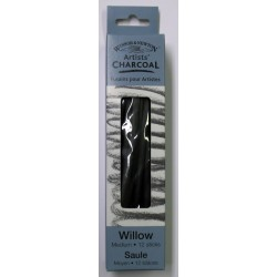 Willow Charcoal - Medium 12 Sticks