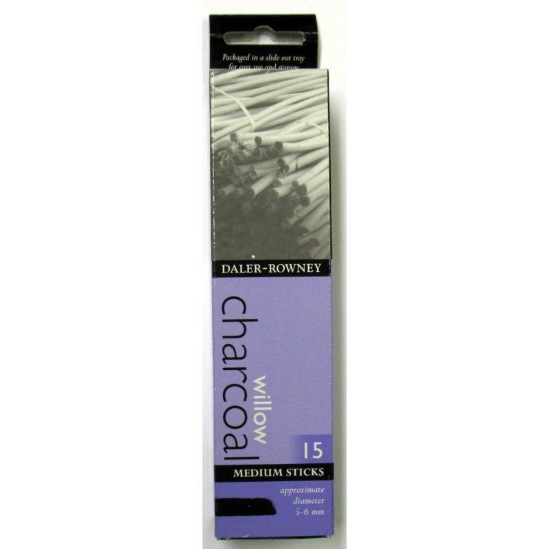 Willow Charcoal - Medium 15 Sticks