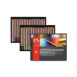 Caran D'Ache Professional Pastel Pencils box of 40