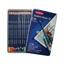 Derwent Watercolour Pencils Tin of 12