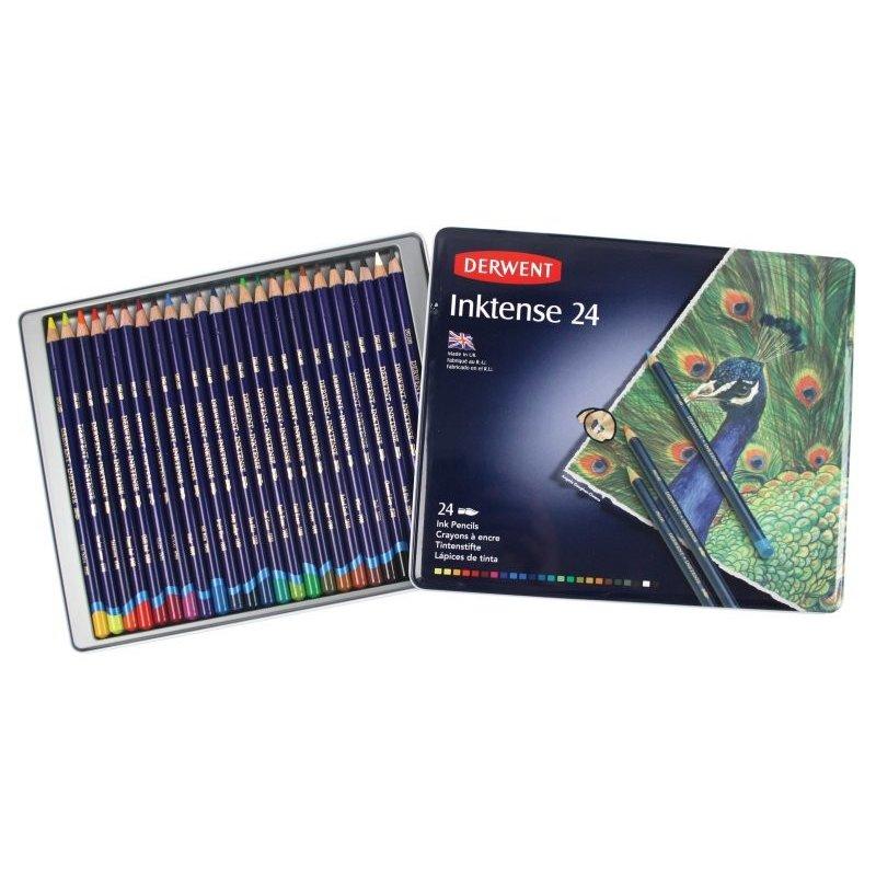 Derwent Inktense Pencils Tin of 24