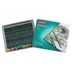 Derwent artist pencils tin of 24