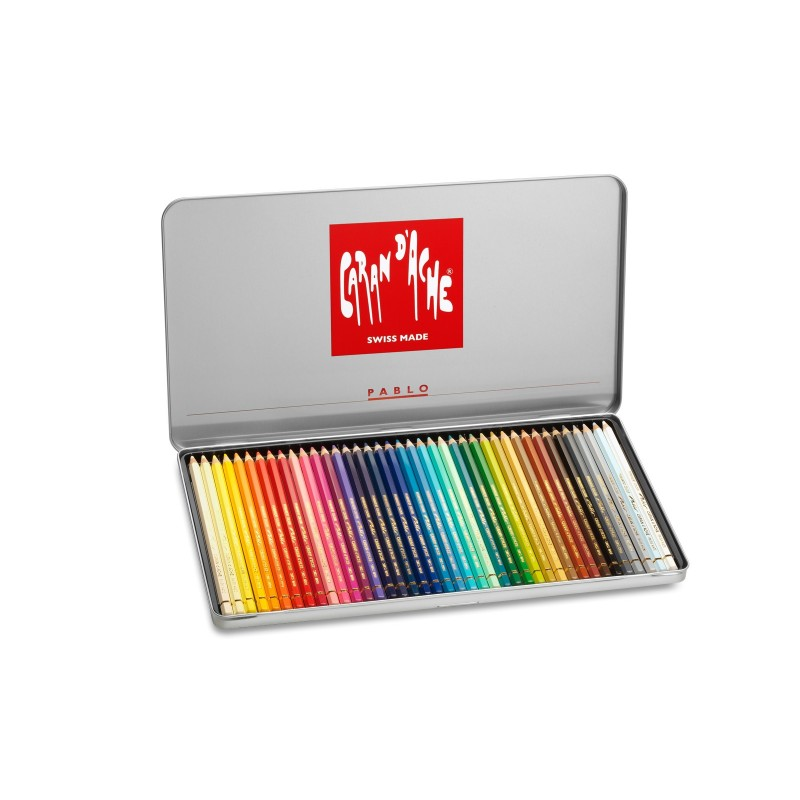 Caran D'Ache Pablo pencils - tin of 40