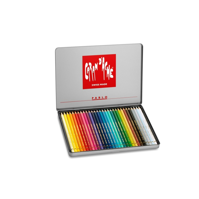Caran D'Ache Pablo pencils - tin of 30