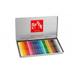 Caran D'Ache SUPRACOLOR® Soft Aquarelle - tin of 40