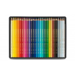 Caran D'Ache SUPRACOLOR® Soft Aquarelle - tin of 30