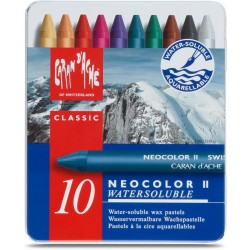Caran D'Ache Neocolor II tin of 10