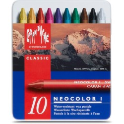 Caran D'Ache Neocolor I tin of 10