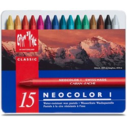 Caran D'Ache Neocolor I tin of 15