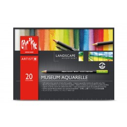 Caran D'Ache Professional Museum Aquarell - box of 20 landscape colours