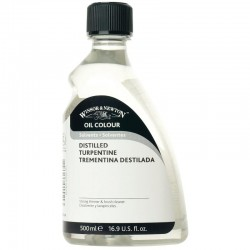Winsor and Newton Distilled Turpentine 500ml