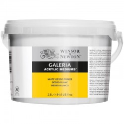 Winsor and Newton White Gesso Primer 2500ml 2.5l