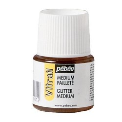 Vitrail glitter medium 45ml