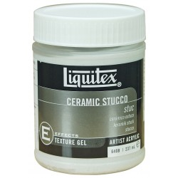 Liquitex textured medium - ceramic stucco -  237ml