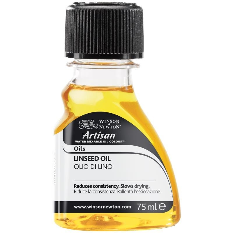 ARTISAN WATER MIXABLE LINSEED OIL 75ml - 3021723