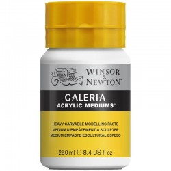 Galeria Acrylic Heavy Carvable Modelling Paste 250ml - 3040814