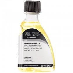Refined linseed oil 250ml - 3039748