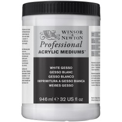 Winsor and Newton Artists' White Gesso Primer 946ml