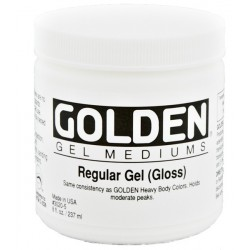 Golden Regular Gel 236ml - Semi-Gloss