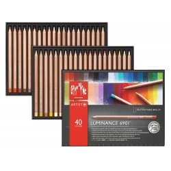 Luminance 6901 box of 40 assorted colours
