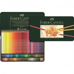 Polychromos artists colour pencils - tin of 120