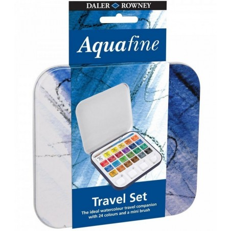 Aquafine Travel Set - 24 paints