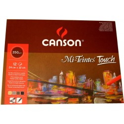 Canson Mi-Teintes Touch Pad 24x32cm 350gsm