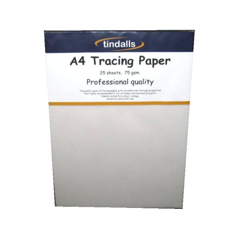 Tindalls tracing paper A4