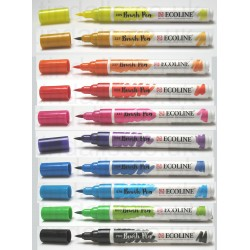 Royal Talens Ecoline  brush pens  set of 10