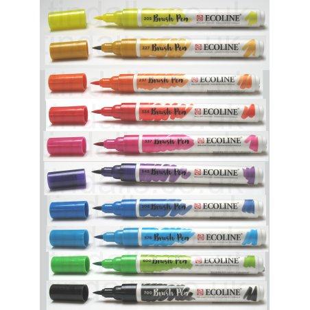 Royal Talens Ecoline  brush pens  set of 10