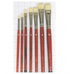 Series 5123 Maestro 2 bristle brush flat
