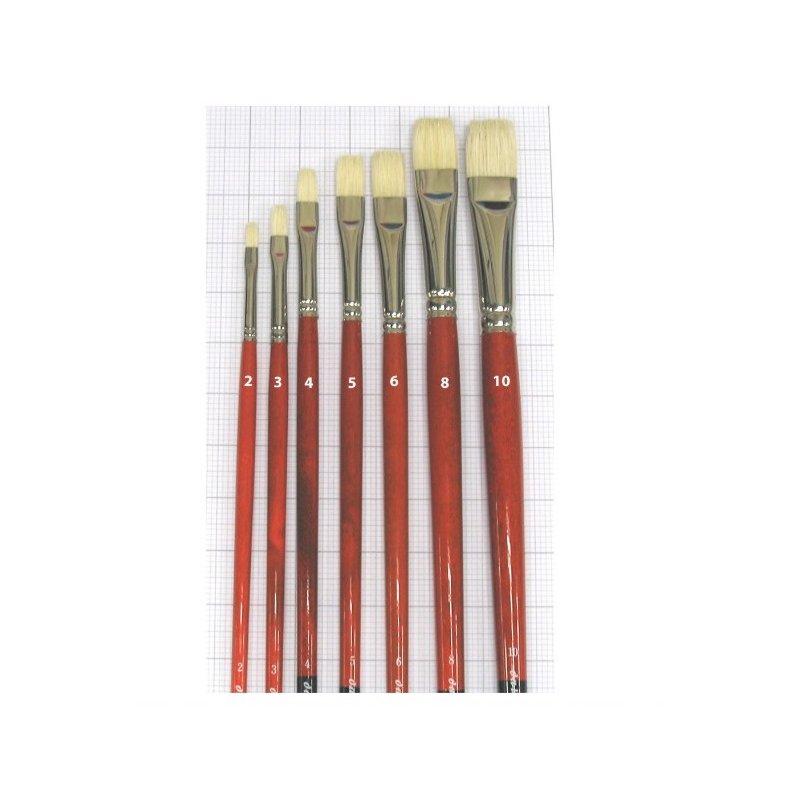 Series 5123 Maestro 2 bristle brush flat