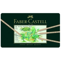 Faber-Castell Pitt Pastel pencils tin of 60
