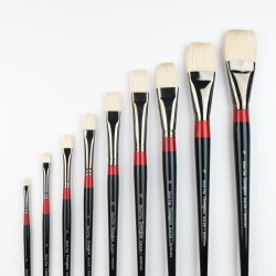 Georgian Oil Brushes - G36 - Short flat