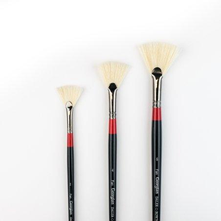 Georgian Oil Brushes - G84 - Fan
